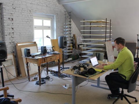 Alessandro Bosetti // A-I-R Sanatorium Dźwięku w Sokołowsku