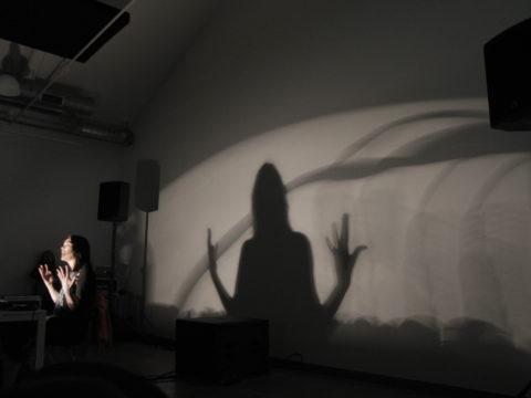 OLIVIA BLOCK – ABERRATION OF LIGHT  Sanatorium Dźwięku 2016 fot. Tomek Ogrodowyczk