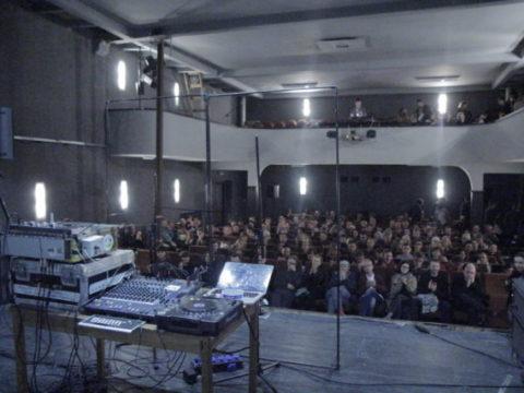 VALERIO TRICOLI Sanatorium Dźwięku 2016 fot. Tomek Ogrodowyczk