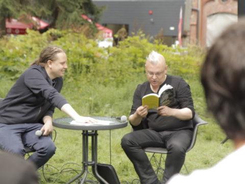 Patryk Lichota i Kasper T. Toeplitz  Sanatorium Dźwięku 2016 fot. Tomek Ogrodowyczk