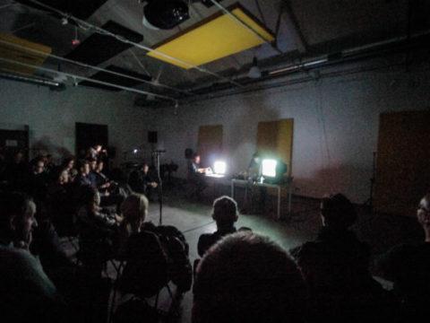 STEPHEN CORNFORD & GERARD LEBIK Sanatorium Dźwięku 2016 fot. Tomek Ogrodowyczk